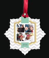 Custom Photo Ornaments just $3 + Shipping!
