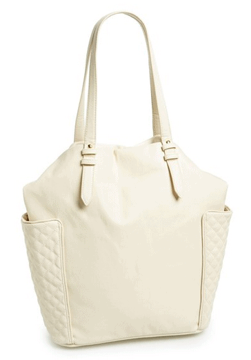 Kendall & Kylie Madden Girl Quilted Pocket Tote