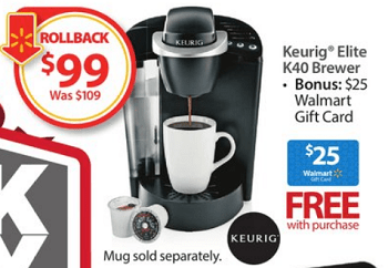 Keurig Elite K40 Brewer