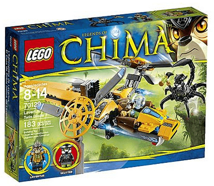 LEGO Legends of Chima Lavertus' Twin Blade