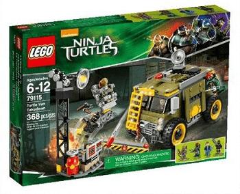 LEGO NINJA TURTLES 79115 TURTLE VAN TAKEDOWN