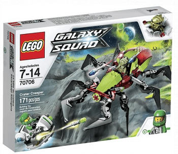 LEGO SPACE CRATER CREEPER 70706