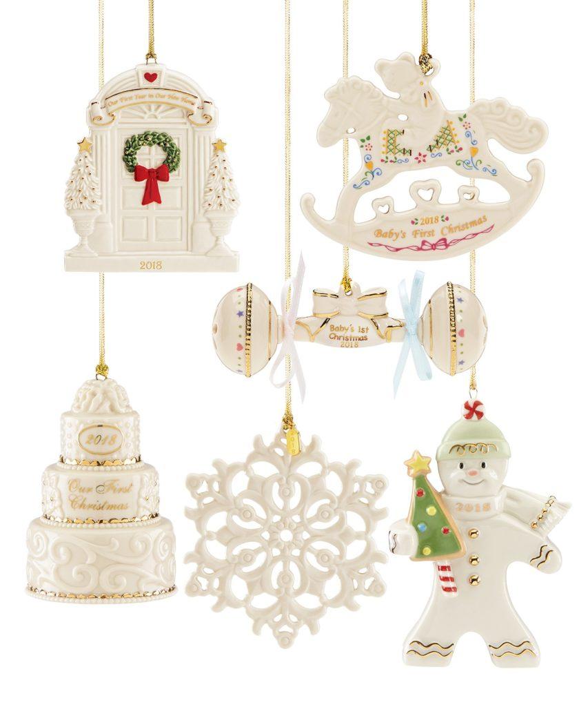 50% Off + 30% Off Lenox Ornaments At Macy's