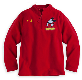 Mickey Mouse Fleece Pullover for Boys - Personalizable