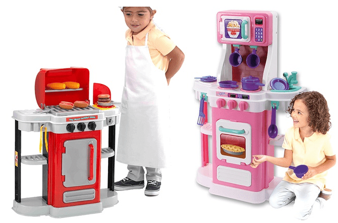 My First Grillin' BBQ or My First Cookin' Kitchen Play Set