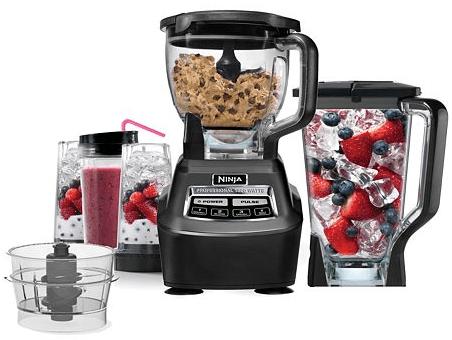 Ninja Mega Complete Kitchen System 1500 Blender & Food Processor As Low As $103.99!