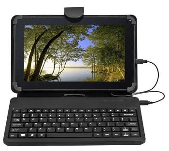 Nobis 9 Tablet 8gb Bonus Keyboard Case