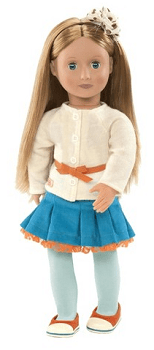 Our Generation 18 Non Poseable Doll - Sadie