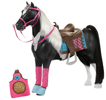 Our Generation 20 American Paint Horse With Accessories