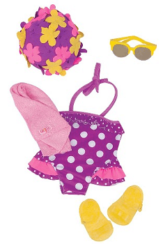 Our Generation Regular Retro Outfit - Swimwear