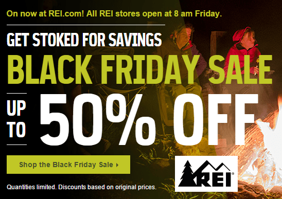 REI Black Friday Deals