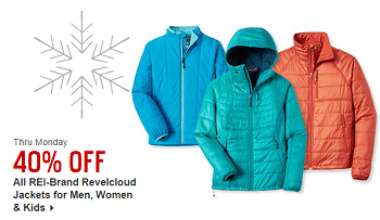 REI Revelcloud Jacket Deals