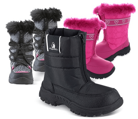 Rugged Bear Snow Boots For Kids $19.99
