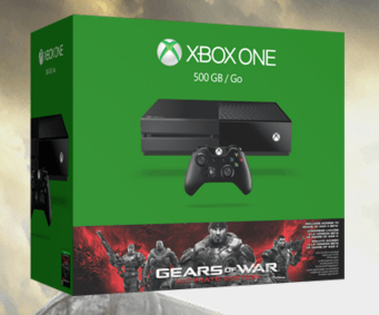 XBox One Console with Gears of War Bundle