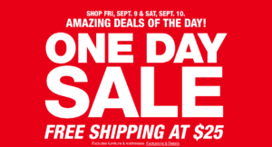 Macys One Day Sale