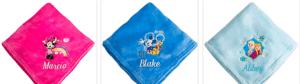 Disney Personalized Fleece Blankets