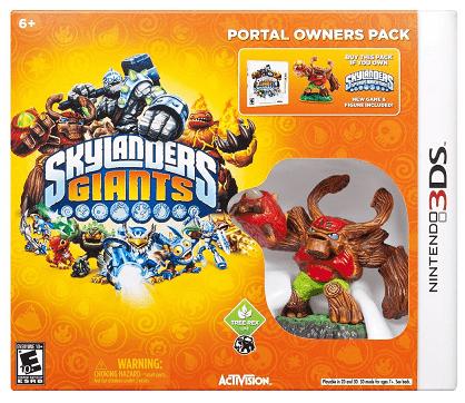 Skylanders Giants Portal Owners Pack – Nintendo 3DS $8.99!