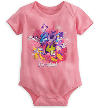 Sorcerer Mickey Mouse and Friends Bodysuit for Baby - Disneyland 2014