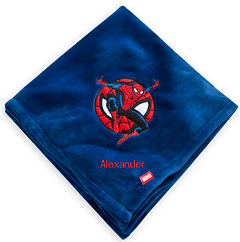 Spider-Man Throw Blanket - Personalizable