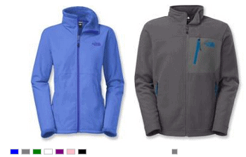 The North Face Chimborazo and Morninglory Jackets