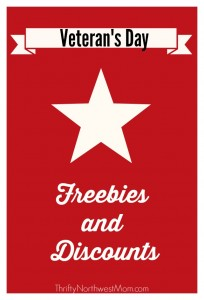 Veterans Day Freebies and DIscounts