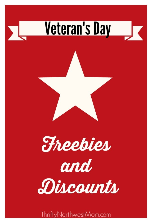 Veterans Day Freebies and Discounts 2020 – 40+ Deals for Restaurants, Retail Stores, NW & National Events