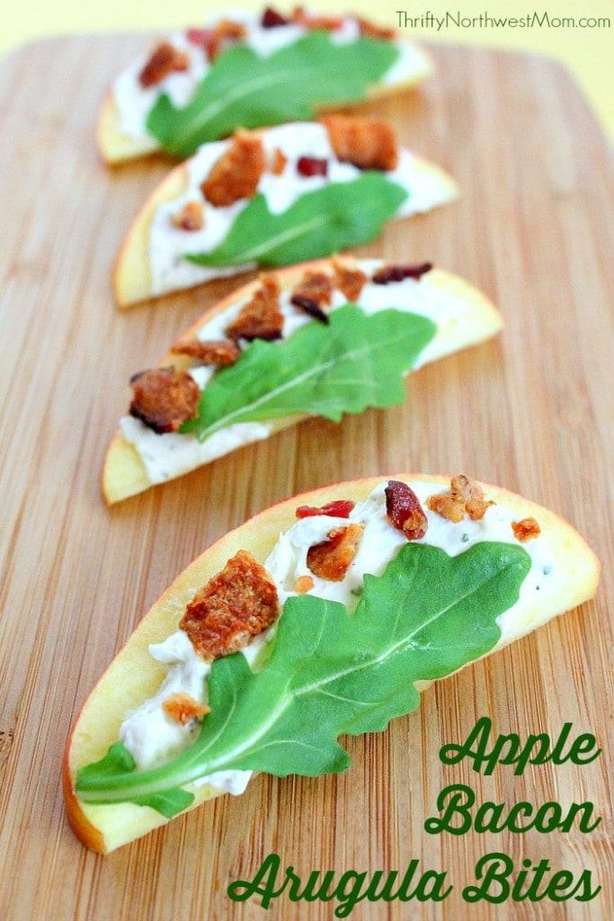 Apple Bacon Arugula Bites – Light & Tasty Appetizer for Parties