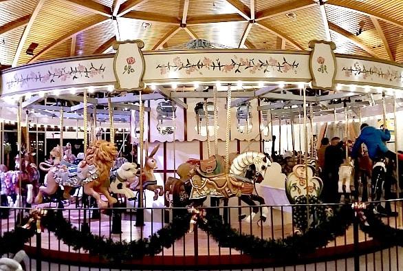 Butchart Gardens Carousel