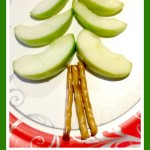 Healthy Christmas Tree Treat for Kids