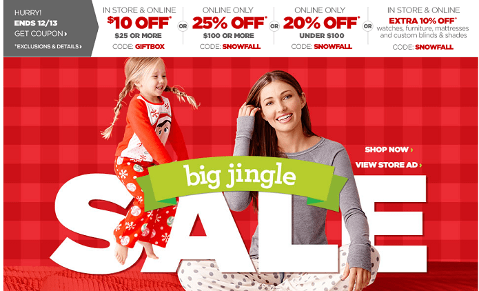 JCPenney Coupon Code Sale