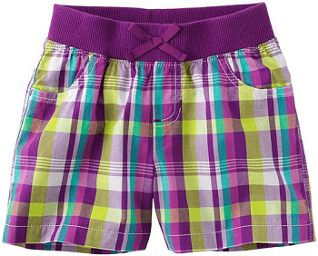 Jumping Beans Plaid Shorts - Girls 4-7