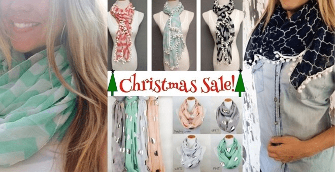 Scarf Blow Out Sale