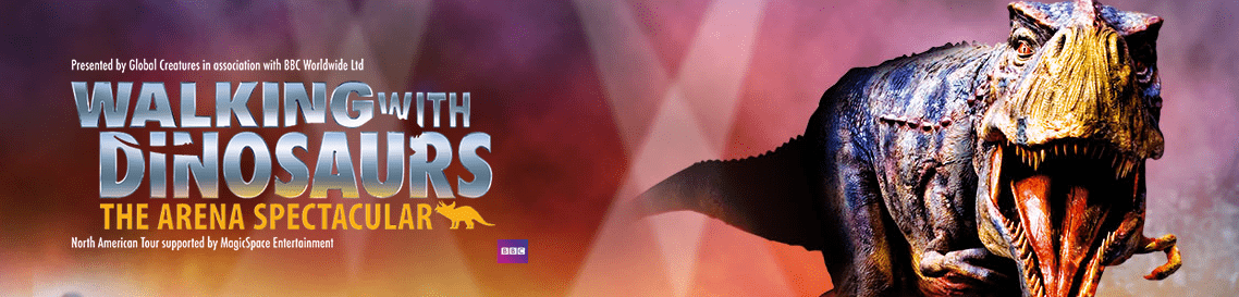 Walking with Dinosaurs discount tickets