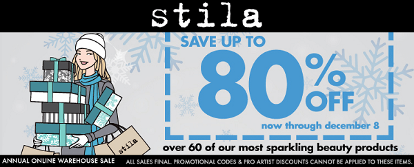 Stila Cosmetic warehouse sale