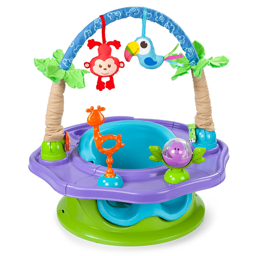 Summer infant 3 stage superseat deluxe giggles island for Porte bebe toys r us