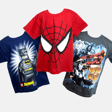 2-Pack Kids Mystery T-Shirts - Marvel, Lego & More