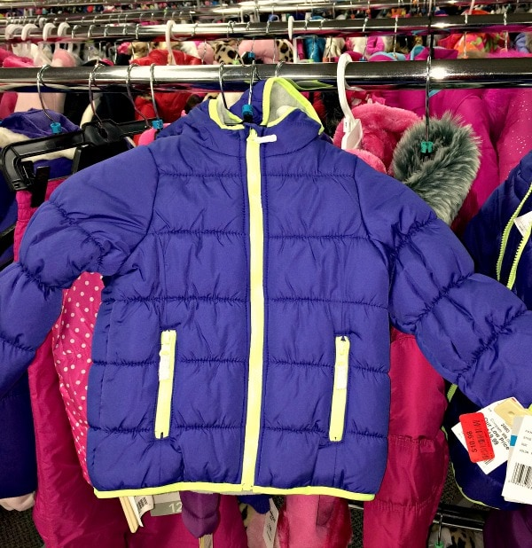 Burlington Stores Coat for Donation Drive