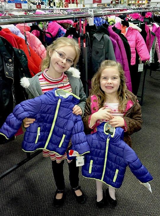 Coats to Donate at Burlington Stores Coat Drive