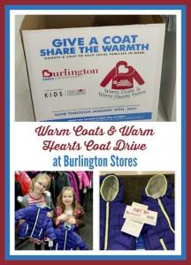 Donate a Coat to Burlington Stores