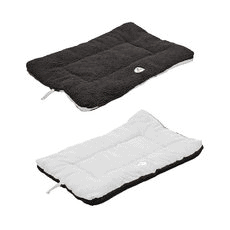 Eco-Paw Reversible Eco-Friendly Pet Bed - Black