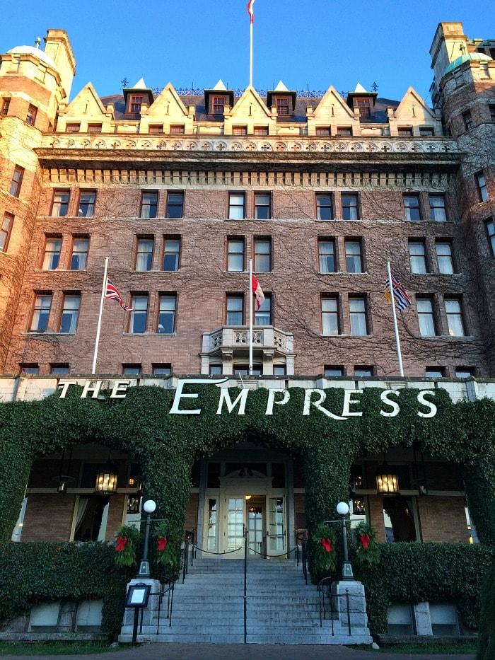 The Empress Hotel in Victoria BC