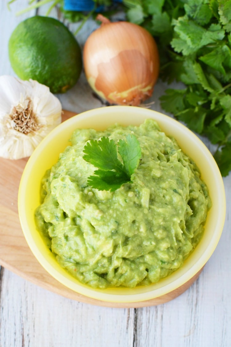 recipe for guacamole spread