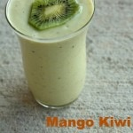 Mango Kiwi Avocado Smoothie