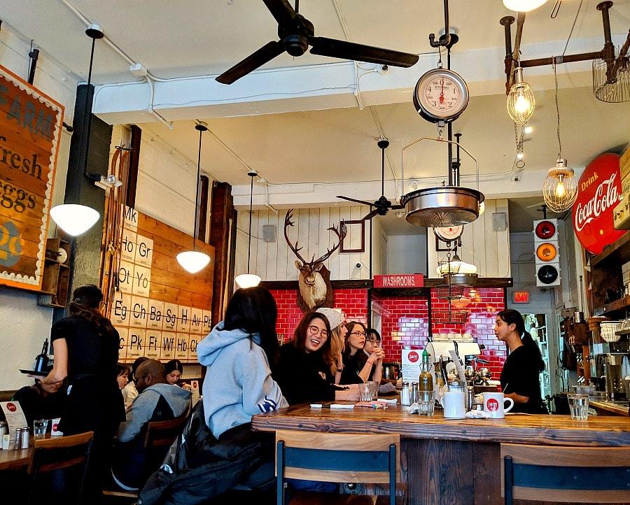 Jam Cafe inside