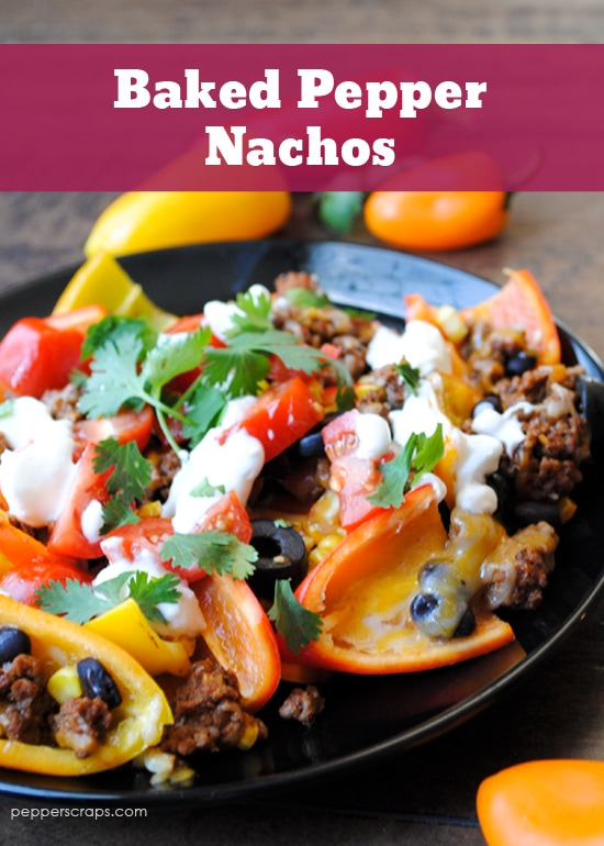 Low-Carb-Baked-Pepper-Nachos