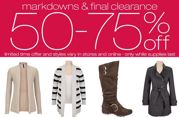 45ed2f6d6e30 Maurices Clearance Sale up to 75% OFF!