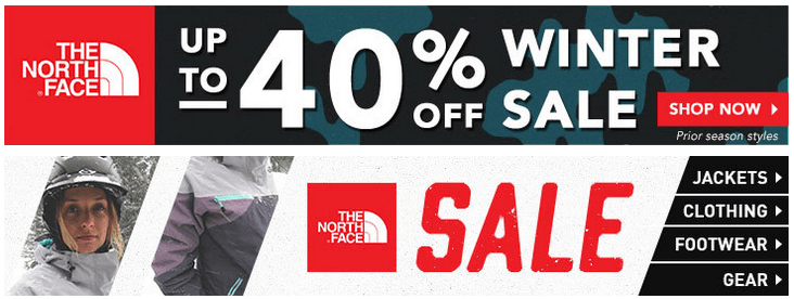 North Face Sale At Moosejaw Up To 40% OFF + Extra 10% OFF!