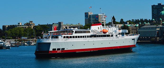 Coho Ferry to Victoria