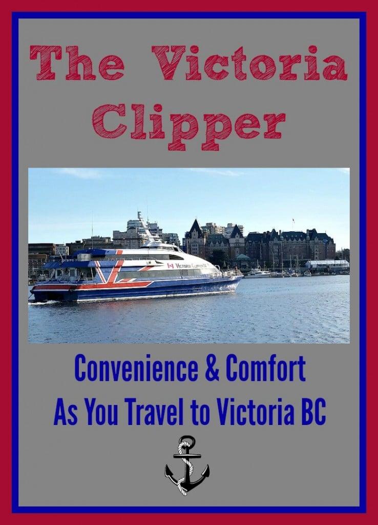 The Victoria Clipper – Comfortable & Convenient Ride to Victoria!