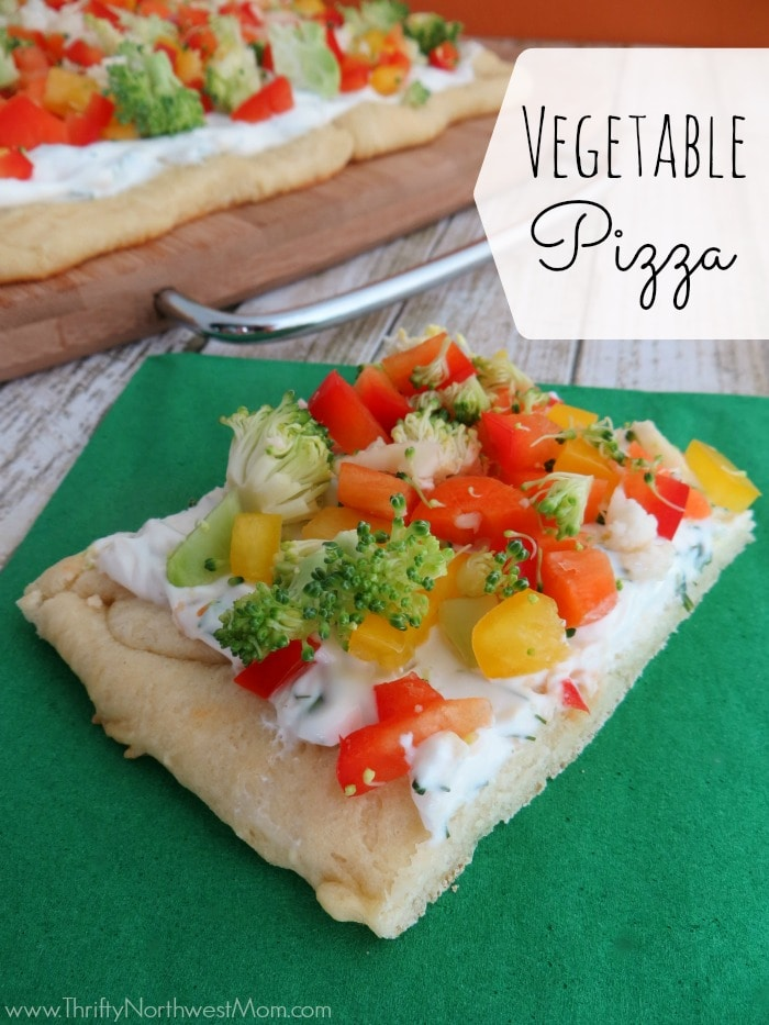 Vegetable Pizza Appetizer